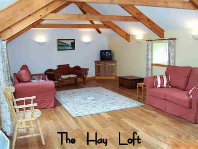 The Hay Loft at Rospannel Farm