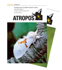 Atropos is a journal for butterfly, moth and dragonfly enthusiasts.